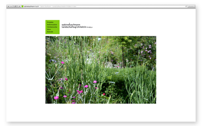 Sabine Kaufmann Landschaftsarchitektin